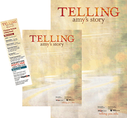 Preview of Telling Amy's Story Promotional Materials